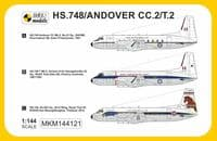 Mark I Models 1/144 Hawker-Siddeley HS.748/Andover CC.2/T.2 'Asian & Australian Service' # 144121